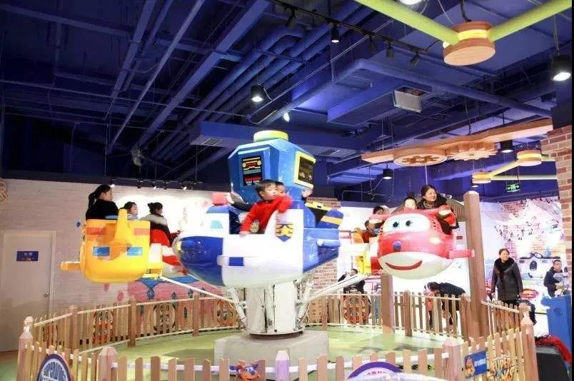 室内乐园作为购物中心最受欢迎的业态