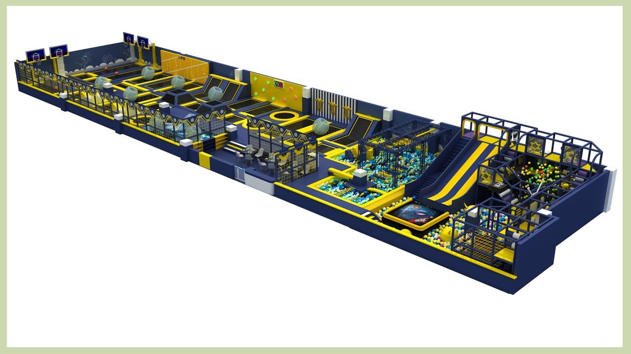 史可威运动蹦床项目方案