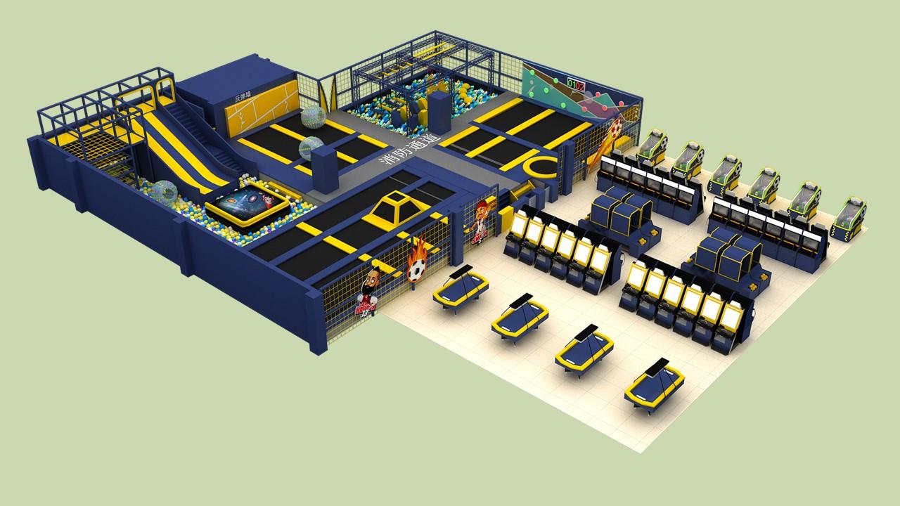 史可威运动蹦床项目介绍设计方案