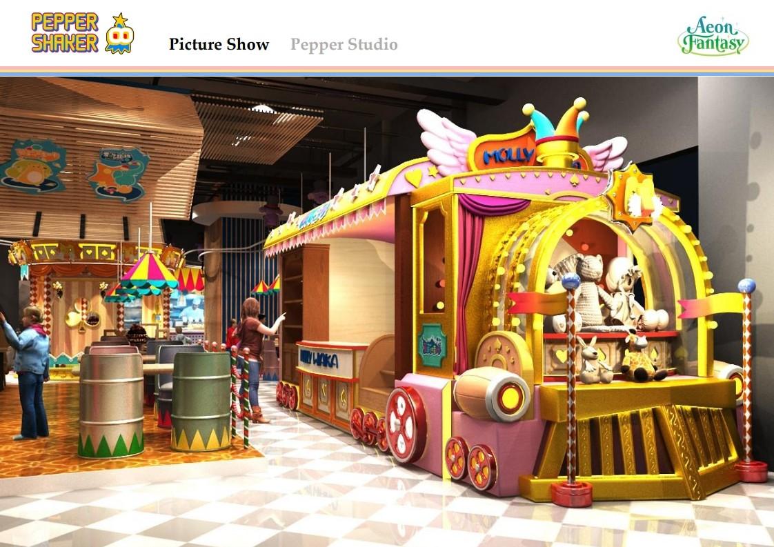 叮当猫儿童餐厅设计