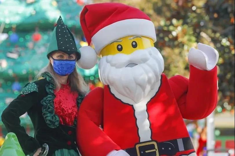 圣地亚哥海洋世界和加州乐高乐园分别公布圣诞主题活动