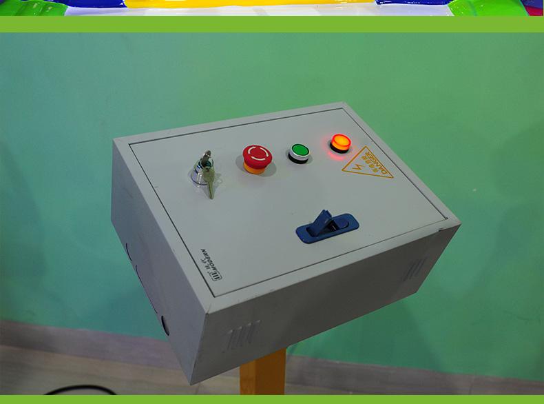 星际启航升降旋转木马儿童游乐设备控制台