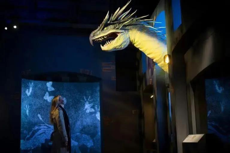 """伦敦自然历史博物馆""""魔法生物""""出没"""
