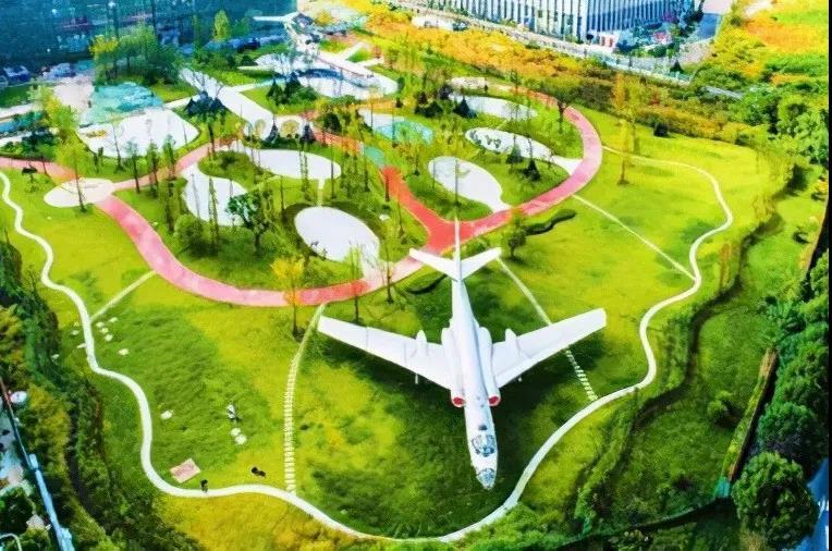 成都彭州丽春航空主题公园明年初开放