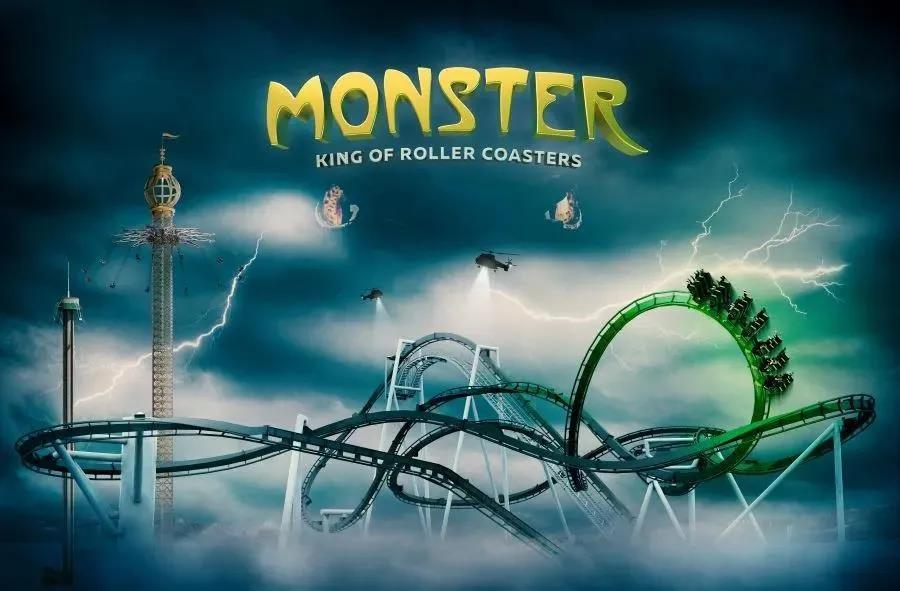 瑞典Gr?na Lund将在2021年开放Monster过山车