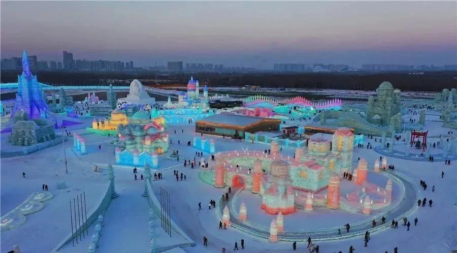 第22届哈尔滨冰雪大世界开园