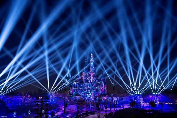 上海迪士尼乐园奇梦之光幻影秀