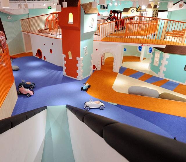 在小区,这样开室内儿童乐园才有市场竞争