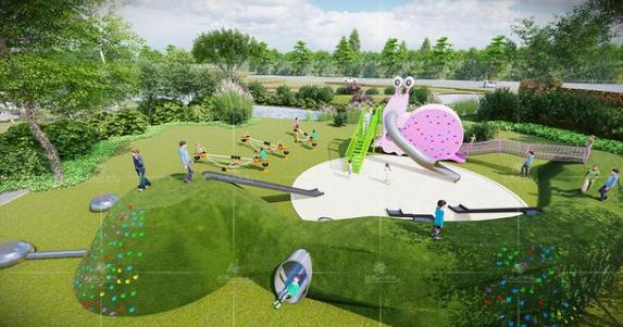 儿童乐园如何设计得好看又好玩?